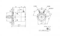 DC-Motor Gleichstrommotor CR 24V/2,2kw f.Hubladebühne Ratcliff Tel Lifts 4696-111-5 46961115 4696-314-9 46963149 IM0030 11.212.6 - 1