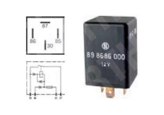 micro relais arbeitsstrom 12v 20a 75898686 campe fahrzeugbedarf gmbh. Black Bedroom Furniture Sets. Home Design Ideas